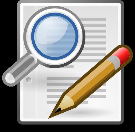 Loupe, Crayon, Recherche, Écrire, Edit, Document